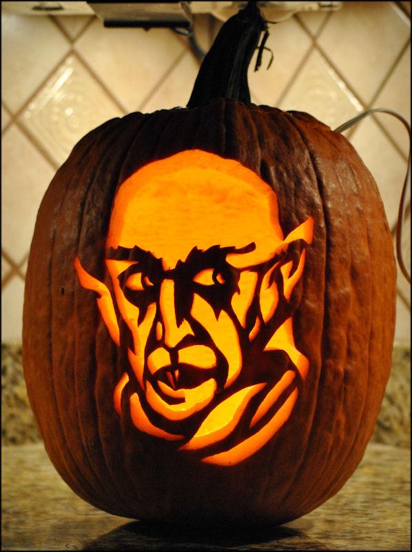 disturbed logo pumpkin carving patterns - 598×800