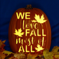 We Love Fall Most of All CO