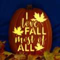 I Love Fall Most of All CO