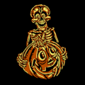 Skully with Pumpkin