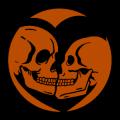 Skulls in Heart