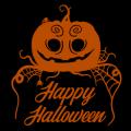 Happy Halloween Pumpkin Web