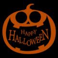 Happy Halloween Pumpkin 02