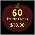 60 Pattern Credits