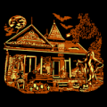 Haunted House with Ghost