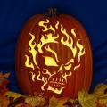 Flaming Skull 01 CO