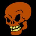 Grinning Skull 01