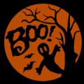Boo Ghost Tree