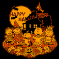 Peanuts Happy Halloween 4C