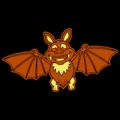 Cute Cartoon Bat 02