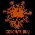 Coronavirus Skull 02