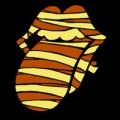 Rolling Stones Mummy Tongue