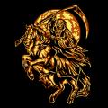 Grim Reaper on Horse