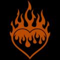 Flaming Heart 04
