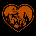 Jack Skellington Heart
