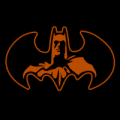 Batman Inside Logo 02