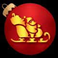 Santa with Reindeer 01 CO
