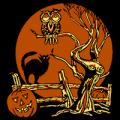 Halloween Scene 01
