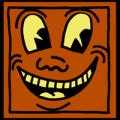 Keith Haring Face 01