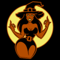 Young and Sexy Witch