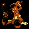 Pinocchio and Jiminy Cricket 01
