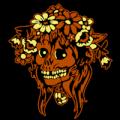 Bouquet Skull