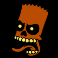Bart Simpson Skull 02