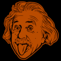 Albert Einstein Tongue 02