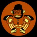 Monkey Playing Cymbals 01