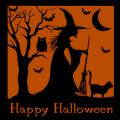 Happy Halloween Witch Scene 01