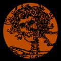 Grateful Dead Skull and Roses 02