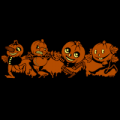 Vntage Pumpkin Goblins