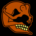 Nudie Skull 02