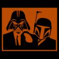 Blues Brothers Darth Vader and Boba Fett
