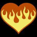 Flaming Heart 02