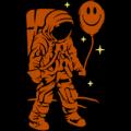 Astronaut with Balloon