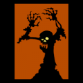 Zombie Silhouette 03