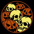 Pumpkins and Skulls 02