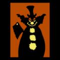 Evil Clown Silhouette 01