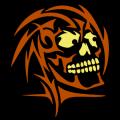 Tribal Skull 02