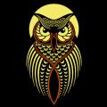 Stylized Owl 04