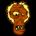 Funny Cartoon Zombie 01