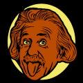 Albert Einstein Tongue 03