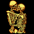 Kissing Skeletons