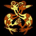 Celtic Herons
