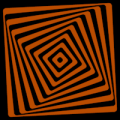 Abstract Swirly Square