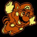 Raccoon Mario Super Mario 01