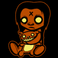 Zombie Kid at Play