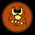 Round Monster Head