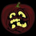 Shaded Pumpkin Face